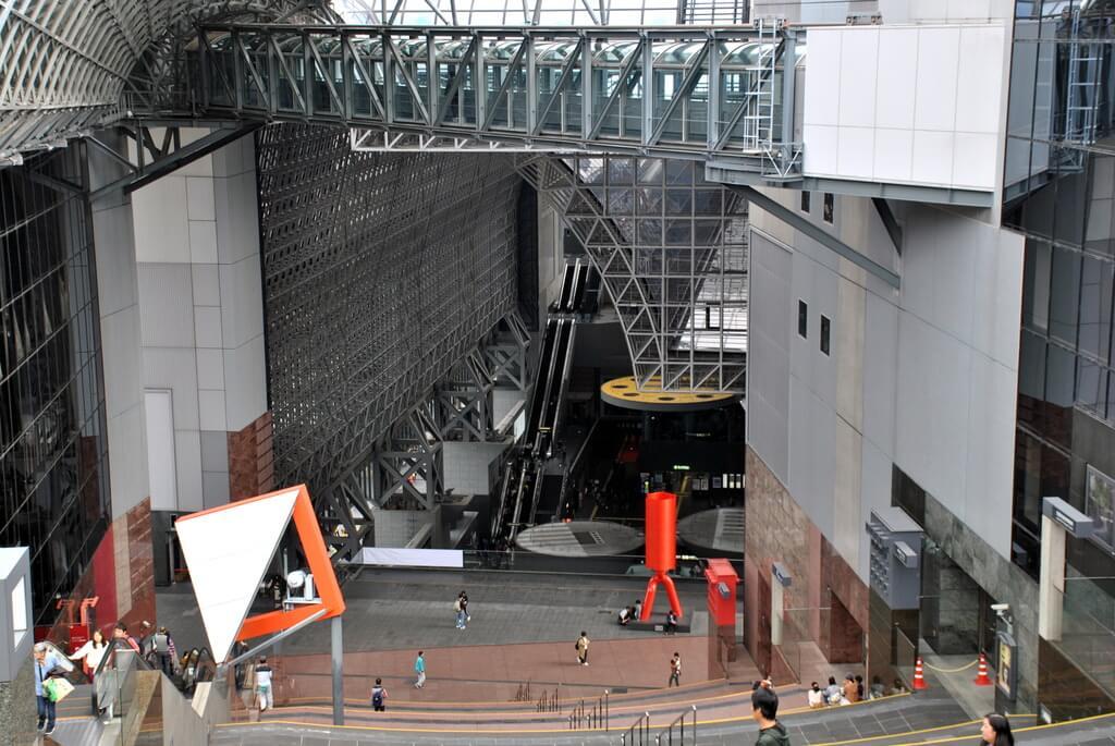 Planta décima de la Estación central de kioto