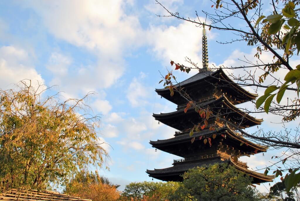 Pagoda del Templo To-Ji