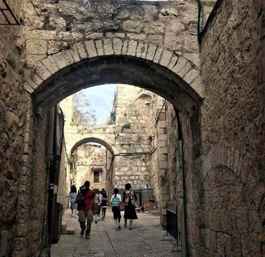 barrio armenio de Jerusalén