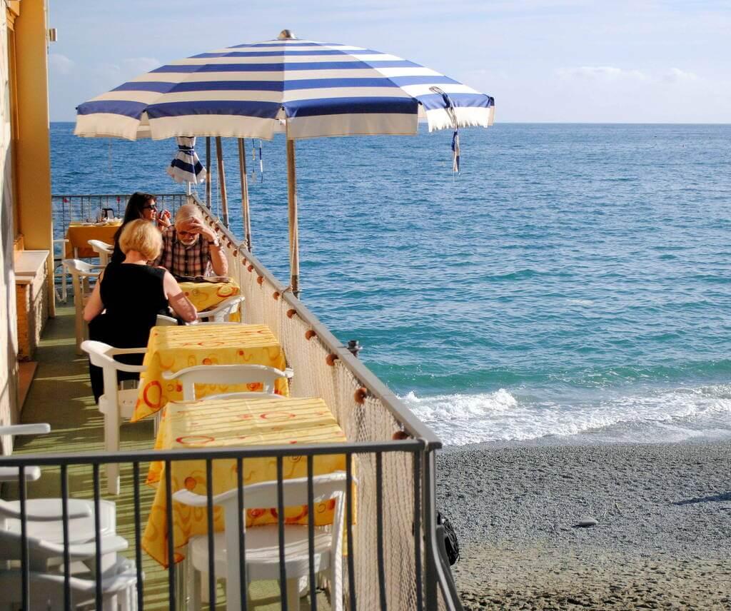 playa de Fegina Monterosso al mare