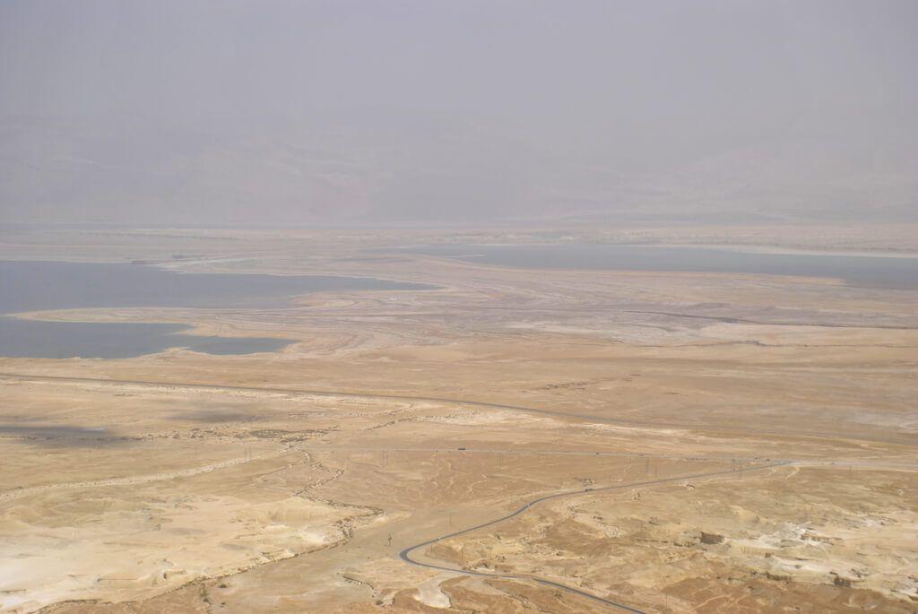Mar Muerto desde la Fortaleza de Masada