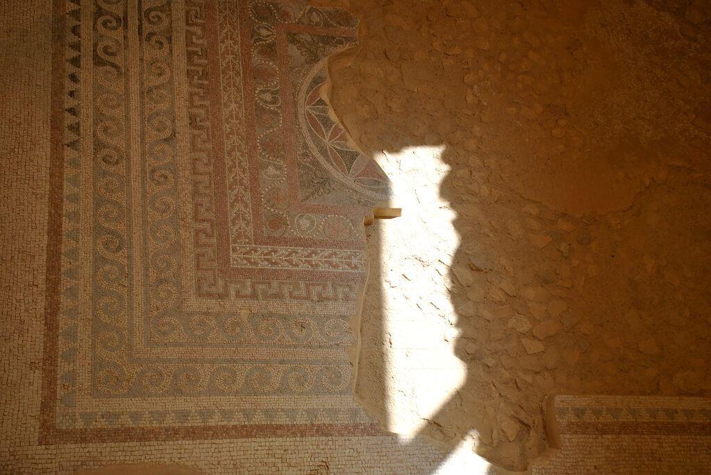 Mosaicos de los baños romanos
