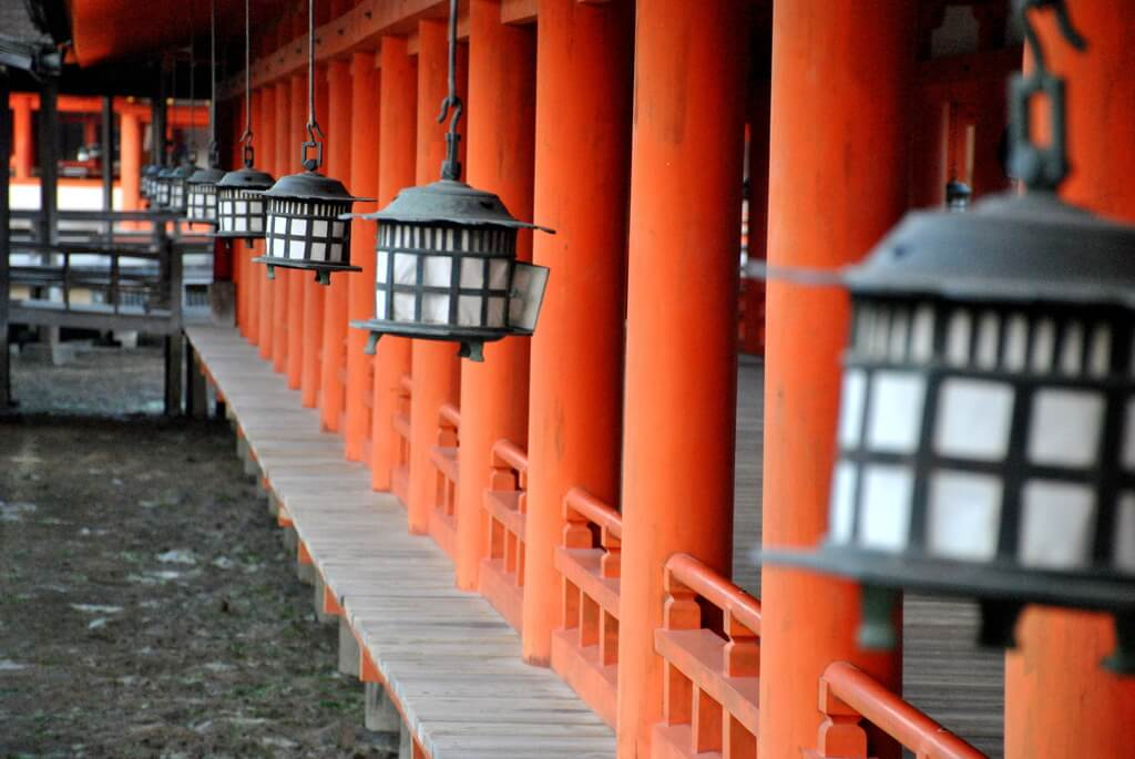 Santuario Itsukushima, Miyajima