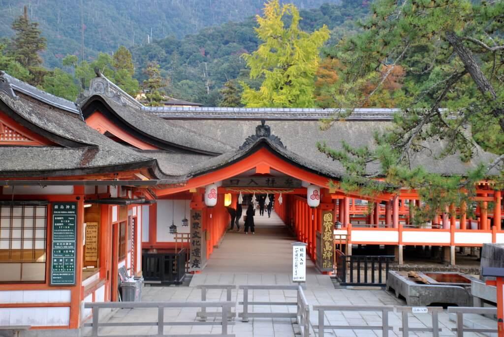 Entrada al SantuarioItsukushima
