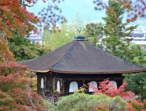 Templos y barrio de la zona este de Kioto