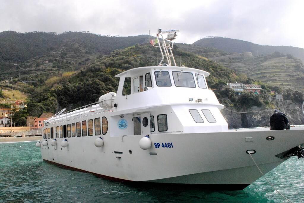 crucero por Cinque Terre