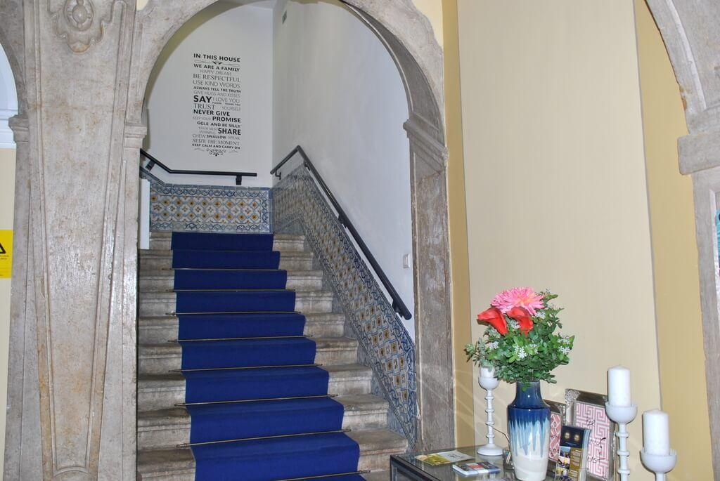 Hall de entrada al hotel