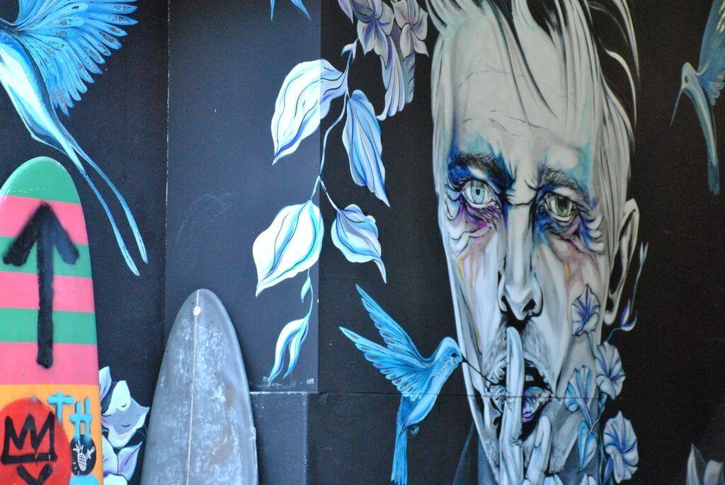 Mural en LX Factory, Lisboa
