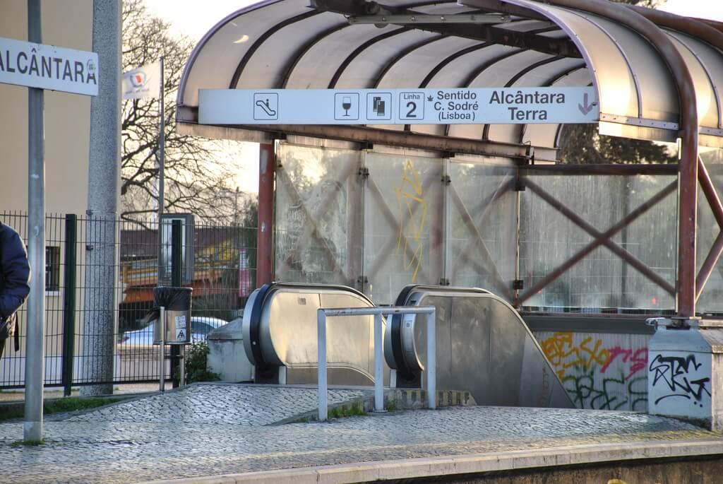 Estación de Alcántara