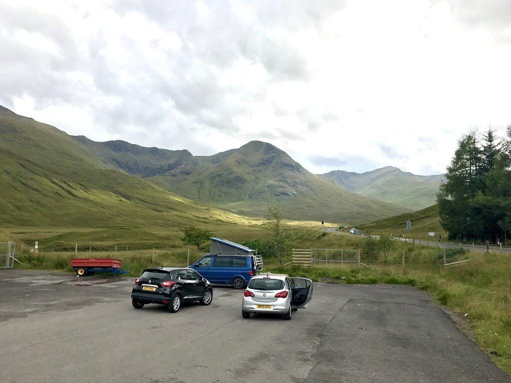 Descansando en la Isla de Skye