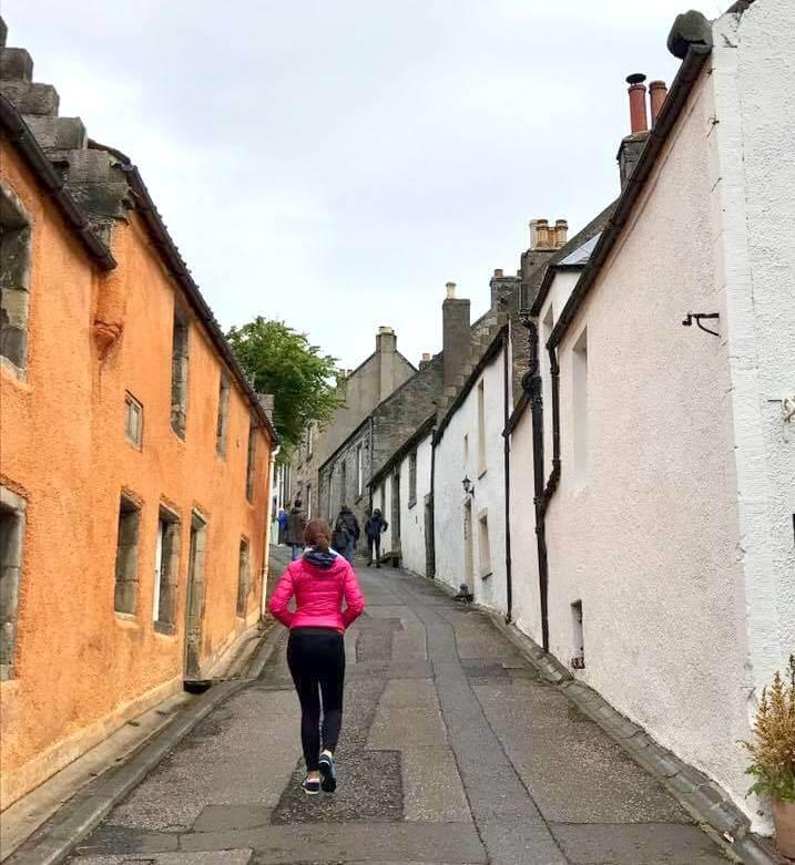 Caminando por las calles de Culross
