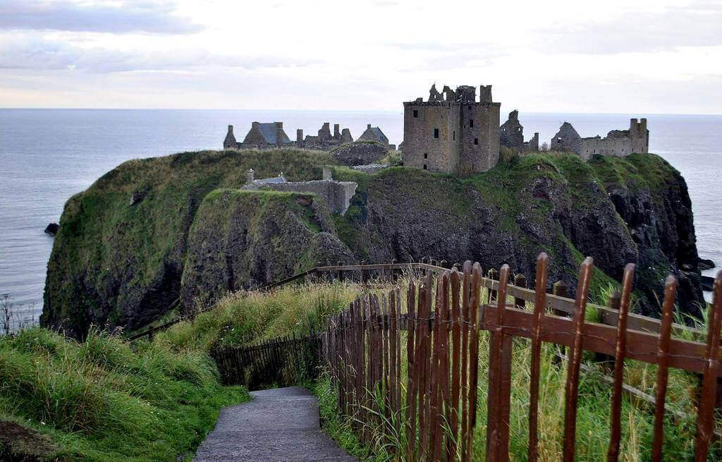 dunnottar Castle, Escocia