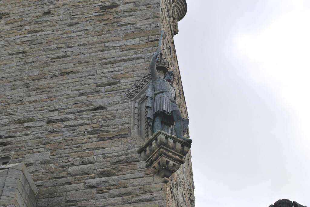 Detalle del Monumento a William Wallace