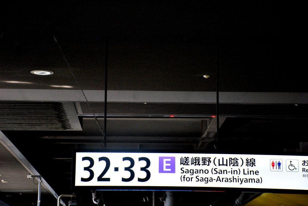 Línea Sagano , Kioto