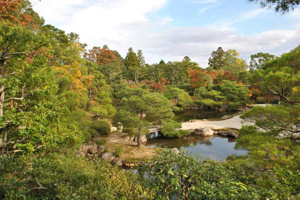 Jardín interior templo Ninna-Ji