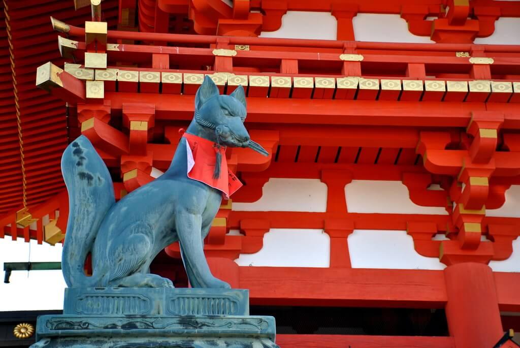 dios Inari, Santuario Fushimi Inari Taisha