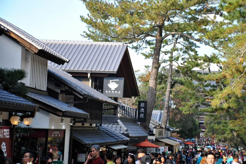 Accediendo a Nara Park