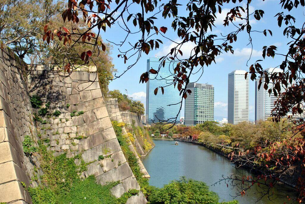 Murallas del Castillo de Osaka