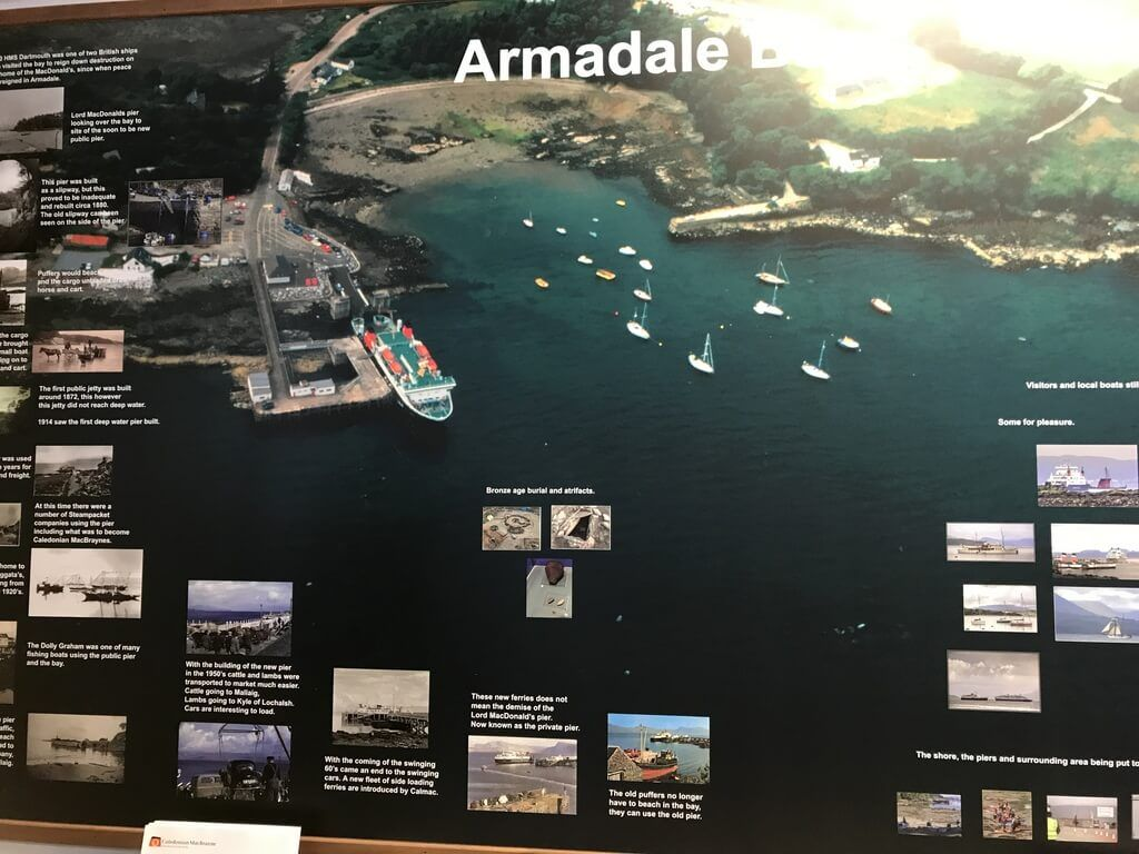 Póster del puerto de Armadale