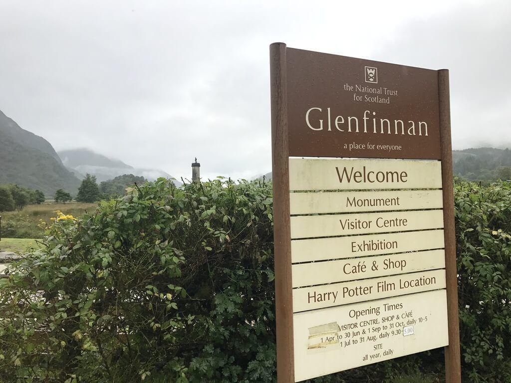 centro de visitantes de Glenfinnan