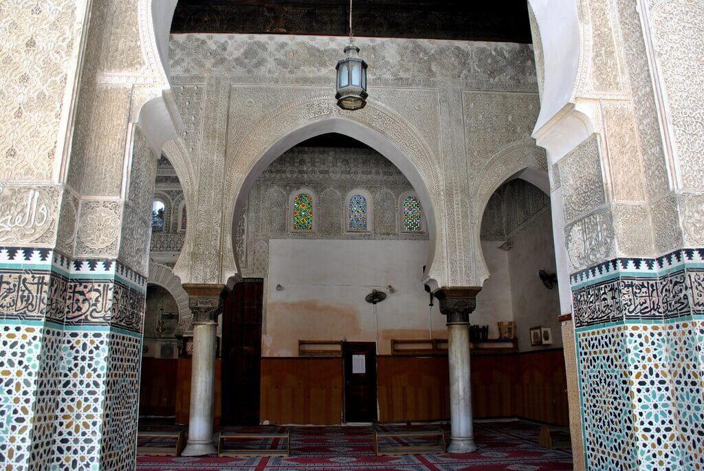 Interior Madrasa Bou Inania