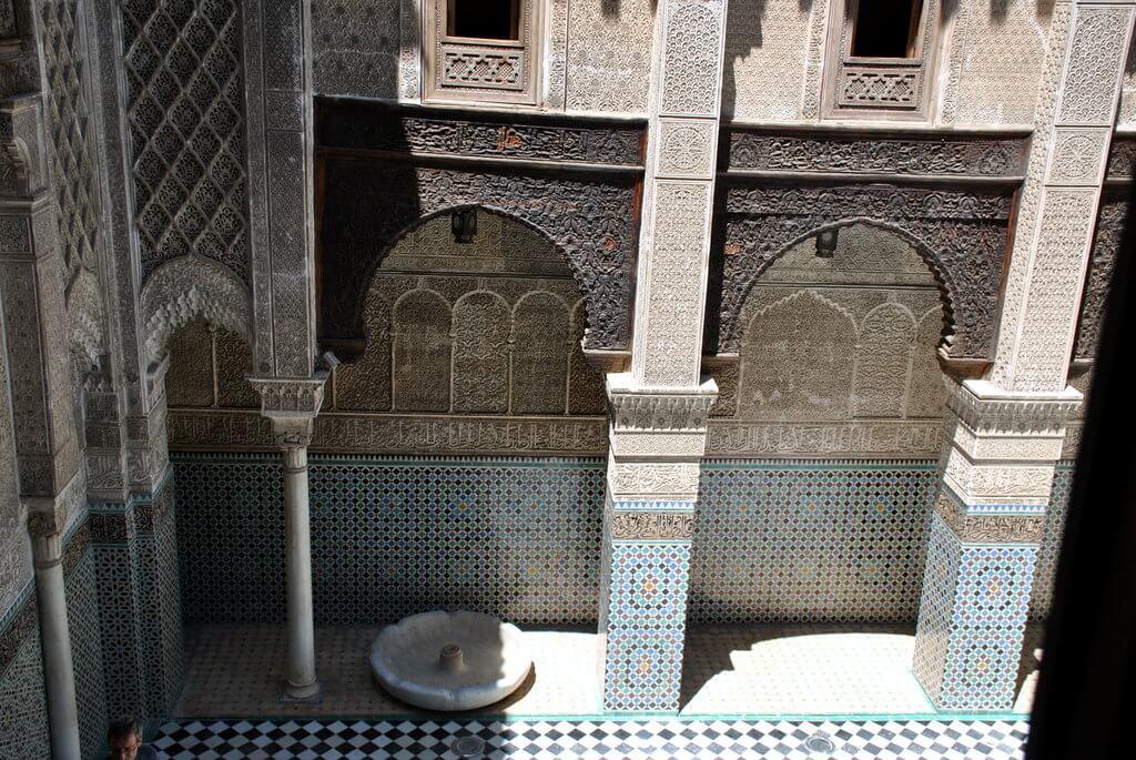 Patio Madrasa Attarine