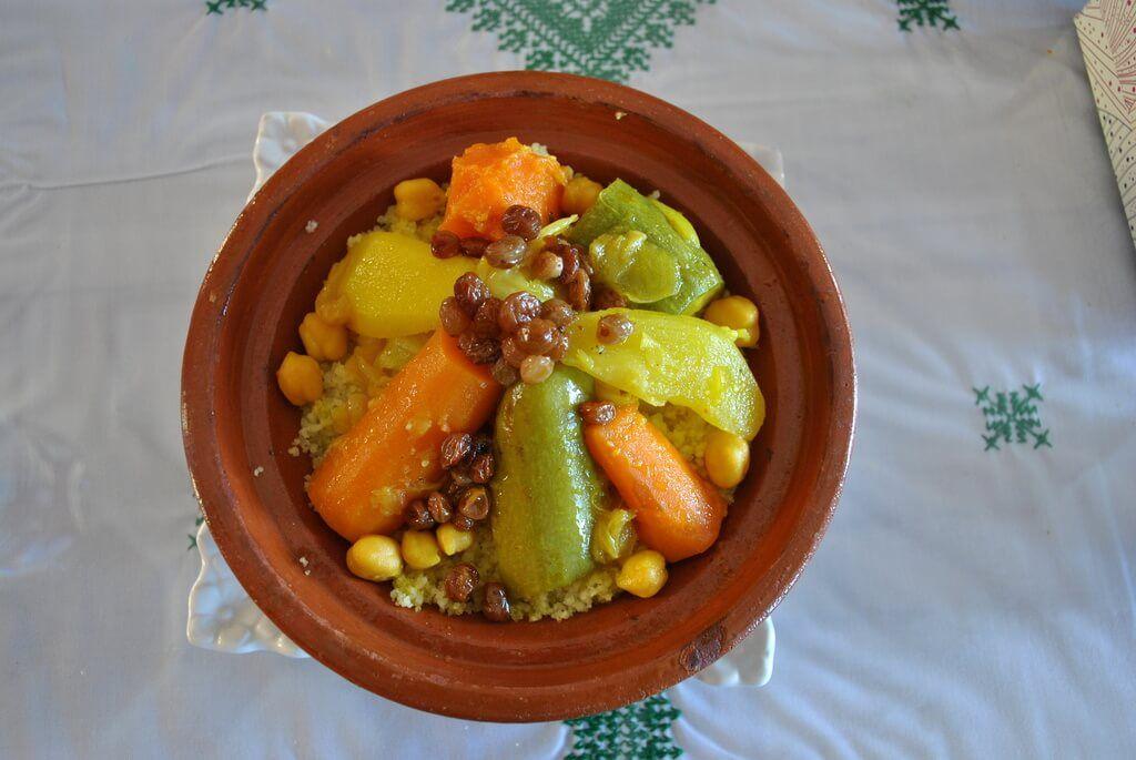 Cous-cous de verduras