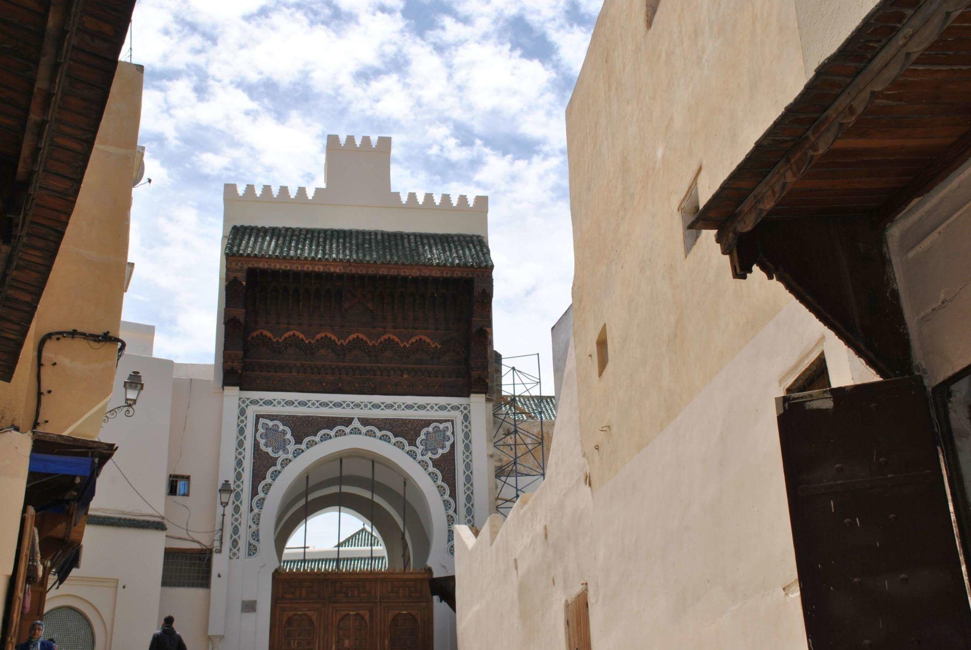 Mezquita del barrio andalusí
