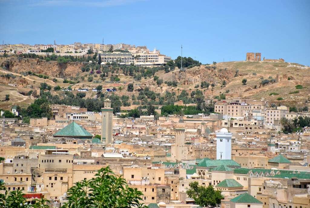 Medina de Fez desde un mirador del barrio andalusí