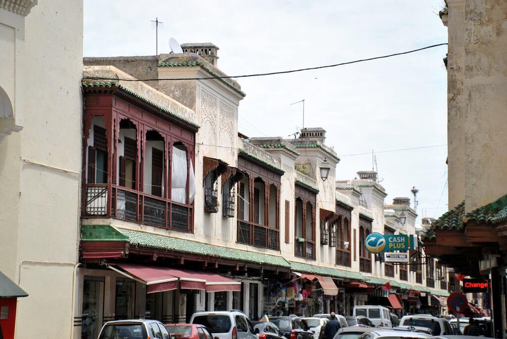Una calle del mellah