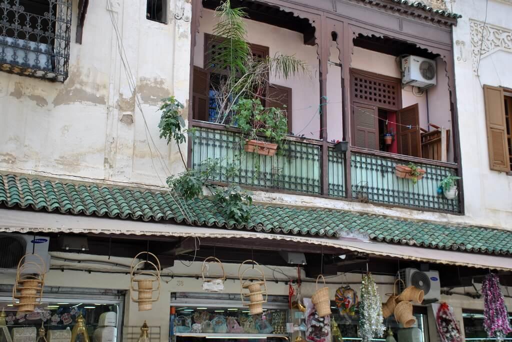 Balcones de madera del Mellah