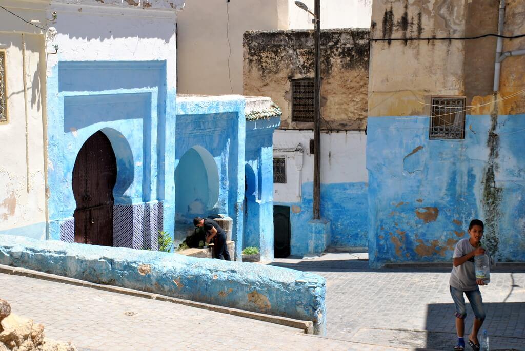 Una calle cualquiera de Fez- El Jedid