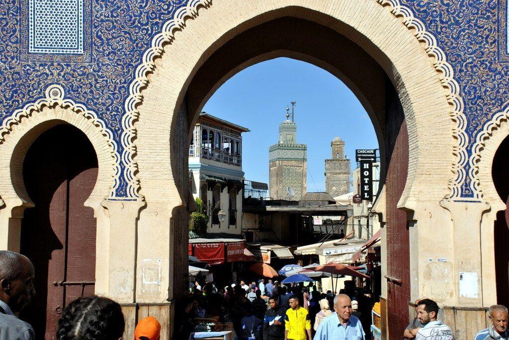 Detalle de Bab Bou Jeloud