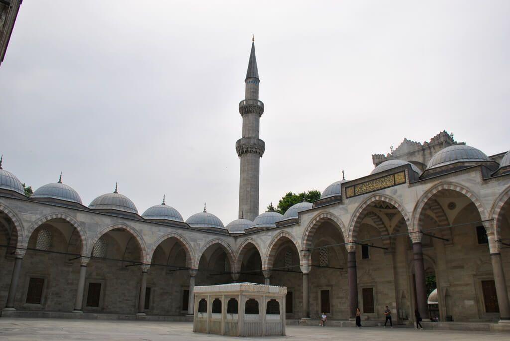 Patio interior mezquita