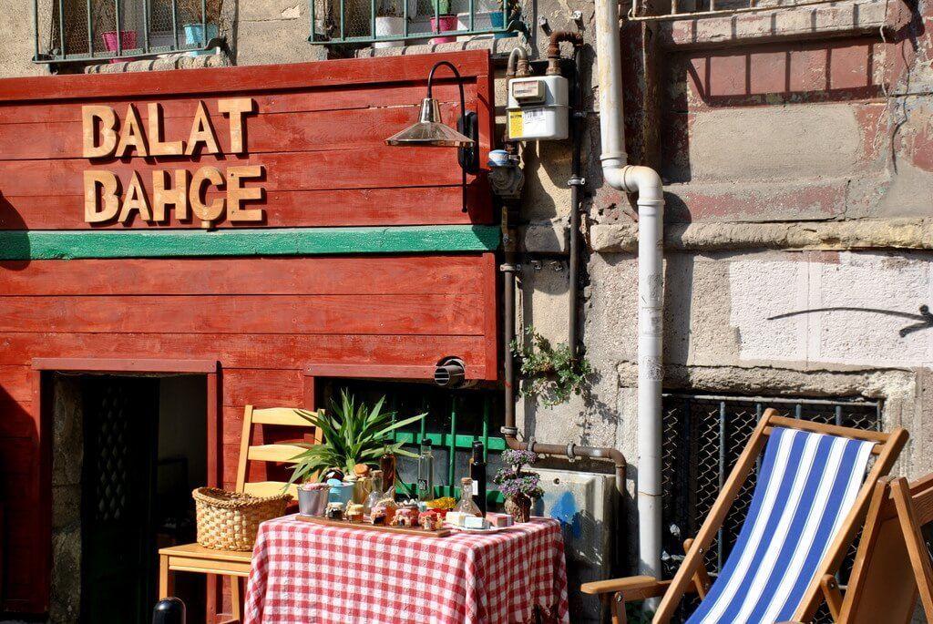 Cafetería en Balat