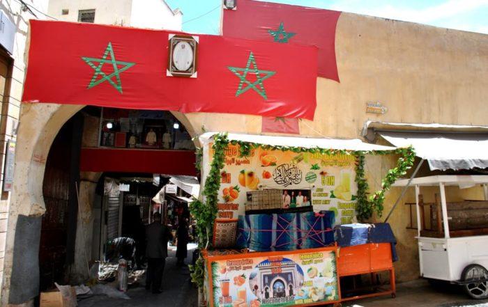 Opciones para comer en Fez
