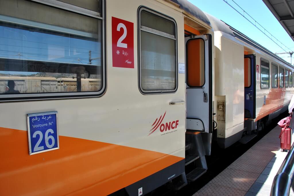 Tren trayecto Fez-Meknes