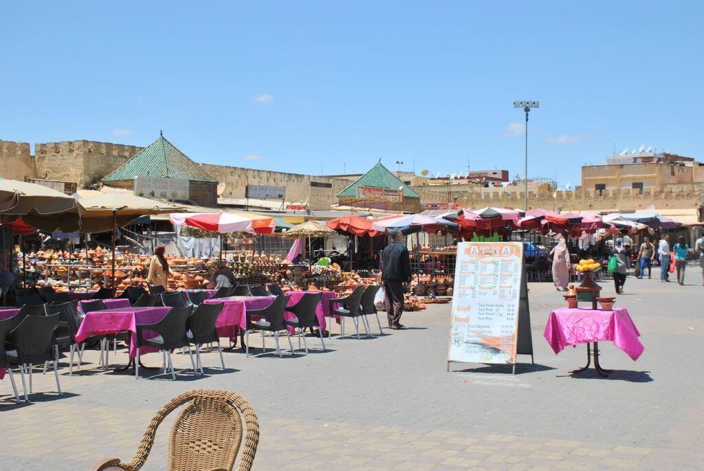 Restaurantes de la Plaza El-Hedim
