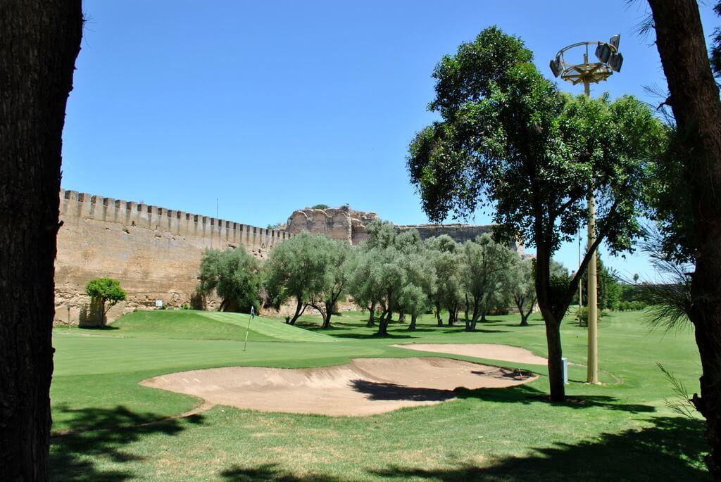 Jardines de Golf del Palacio Real de Meknes