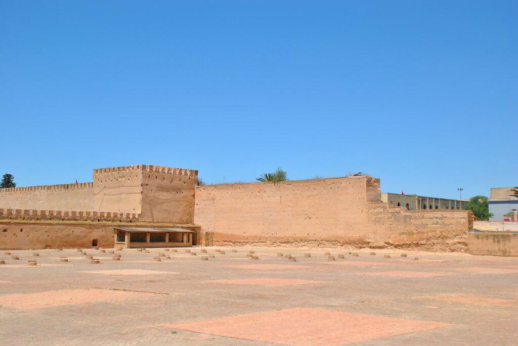 Murallas del Palacio real de Meknes