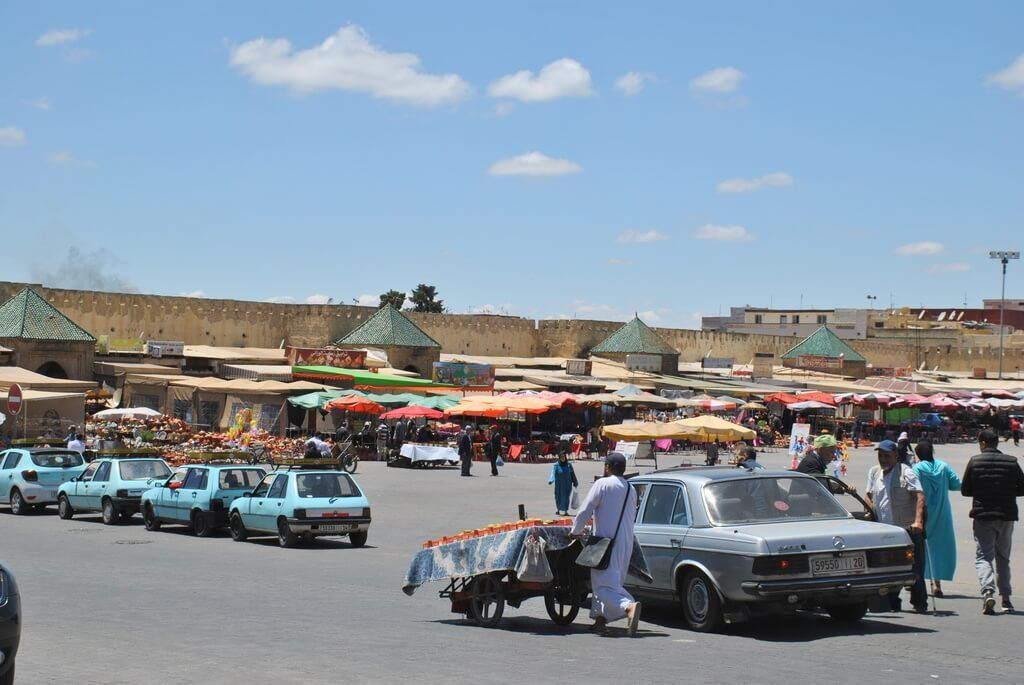 Plaza El-Hedim. Medina de Fez