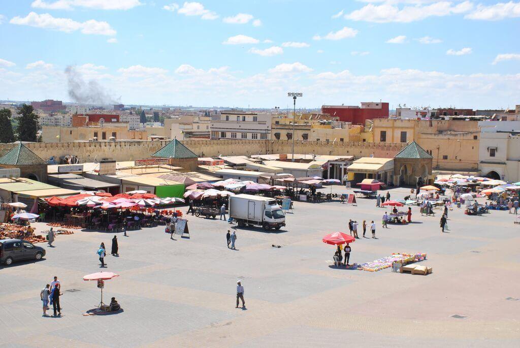 Panorámica general de la Plaza El-Hedim