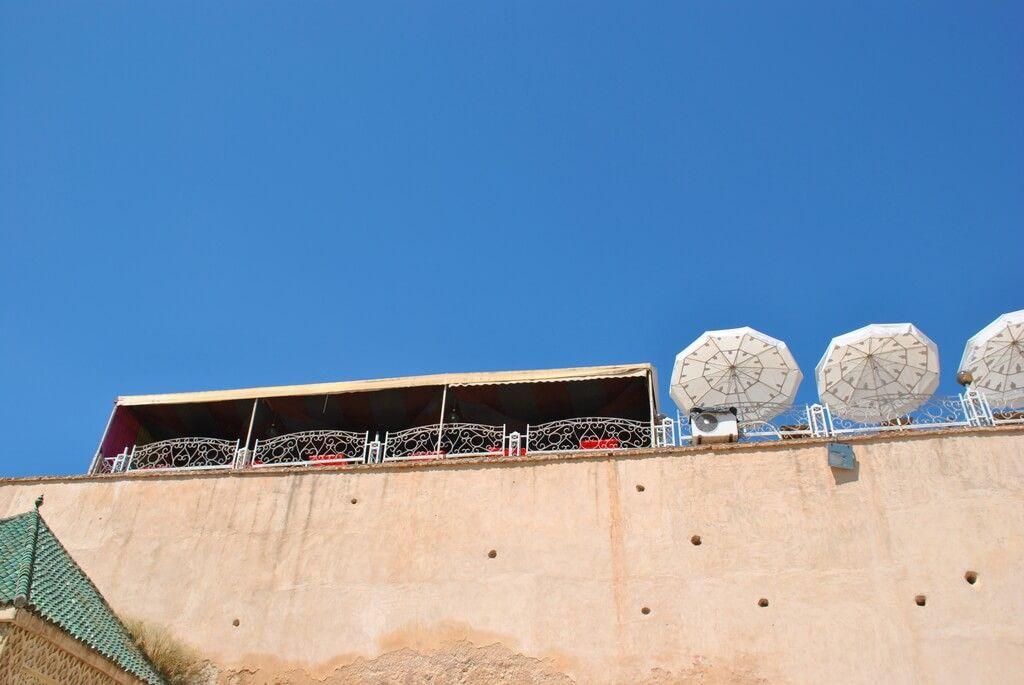 Terraza del Pavillon des Idrissides