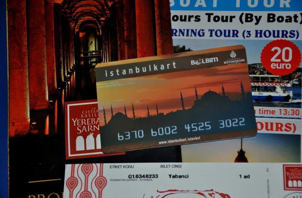 Istanbulkart la tarjeta de transporte de Estambul