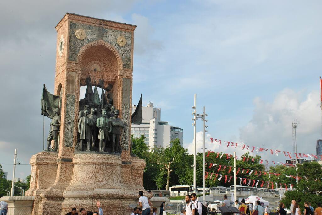 plaza taksim de Estambul