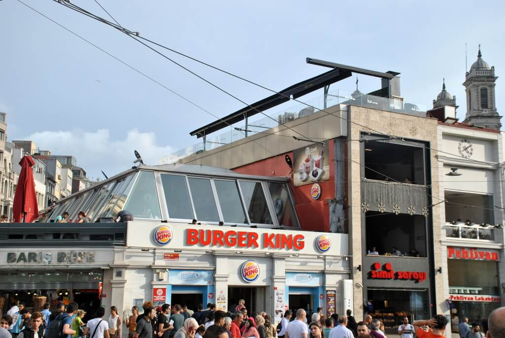 barrio de Taksim, Estambul