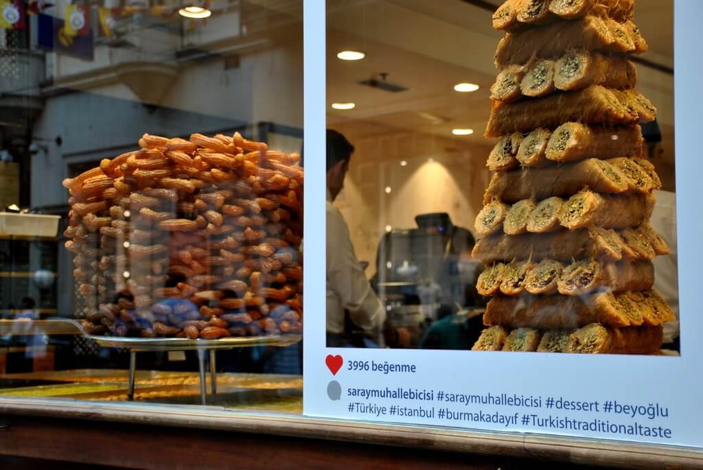 Pastelería en Istiklal