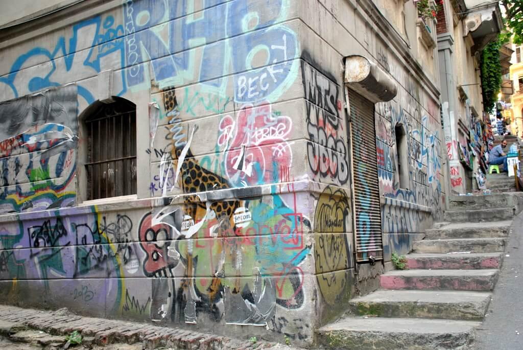 Calle del barrio de Gálata