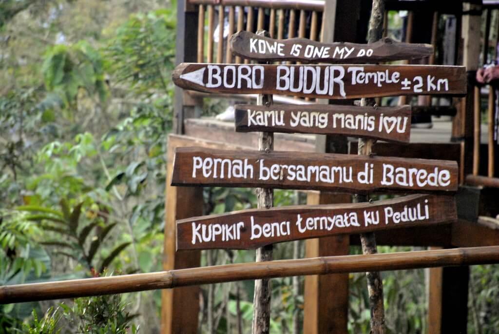 cómo llegar al Templo de Borobudur, isla de Java