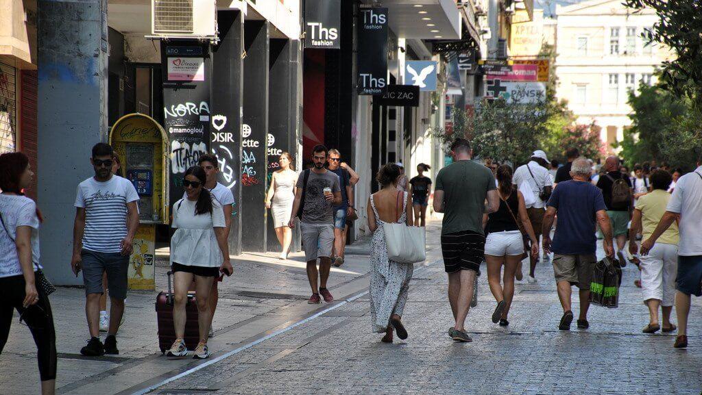 10 lugares que ver en Atenas, calle ermou